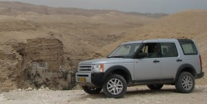 my Land Rover  at St. George