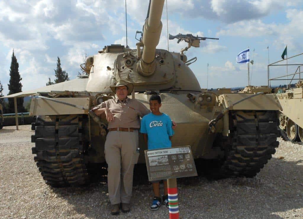 My tank at Yom Kippur war 1973 Patton M-48