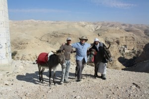 St. George monastery , donkey ride is lots of fun